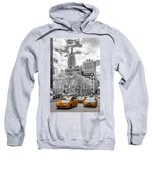 City Of Cabs Sweatshirt by Az Jackson