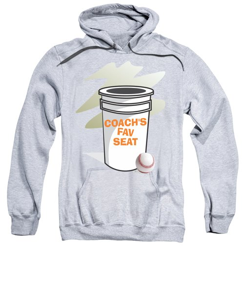 Coach's Favorite Seat Sweatshirt by Jerry Watkins