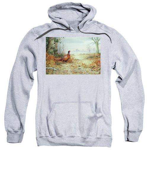 Cock Pheasant  Sweatshirt by Carl Donner
