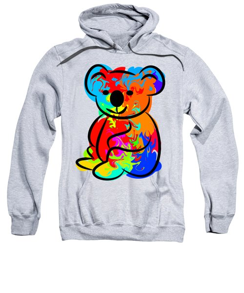 Colorful Koala Sweatshirt by Chris Butler