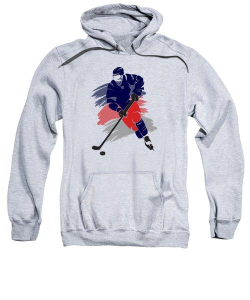Colubus Blue Jackets Player Shirt Sweatshirt by Joe Hamilton