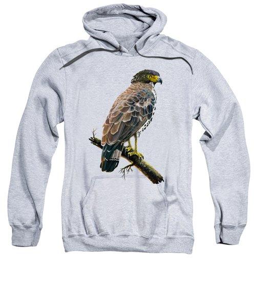 Congo Serpent Eagle Sweatshirt by Anthony Mwangi