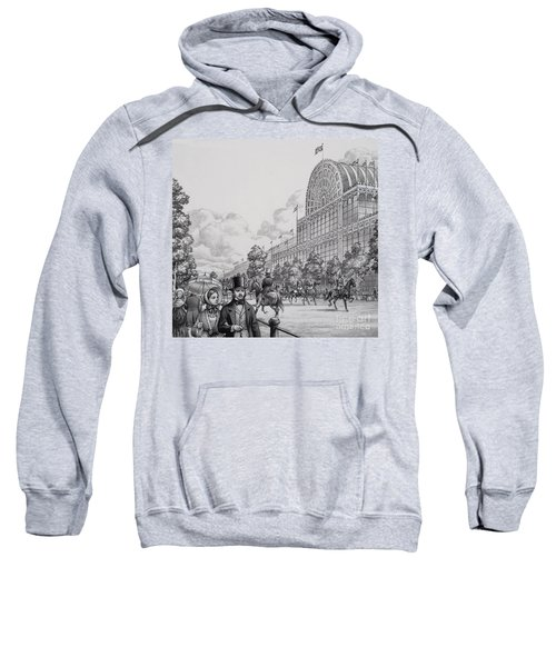 Crystal Palace Sweatshirt by Pat Nicolle