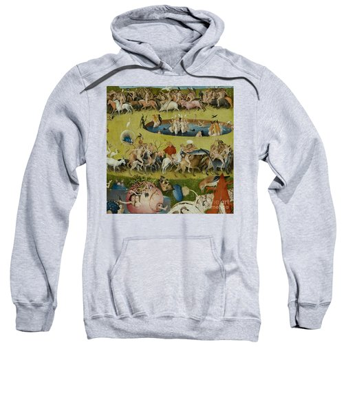 Detail From The Central Panel Of The Garden Of Earthly Delights Sweatshirt by Hieronymus Bosch