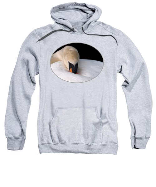 Do Not Disturb - Orange Sweatshirt by Gill Billington