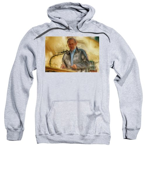 Donald Rumsfeld Sweatshirt by Brian Reaves