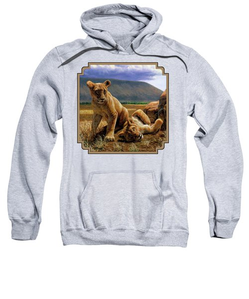 Double Trouble Sweatshirt by Crista Forest
