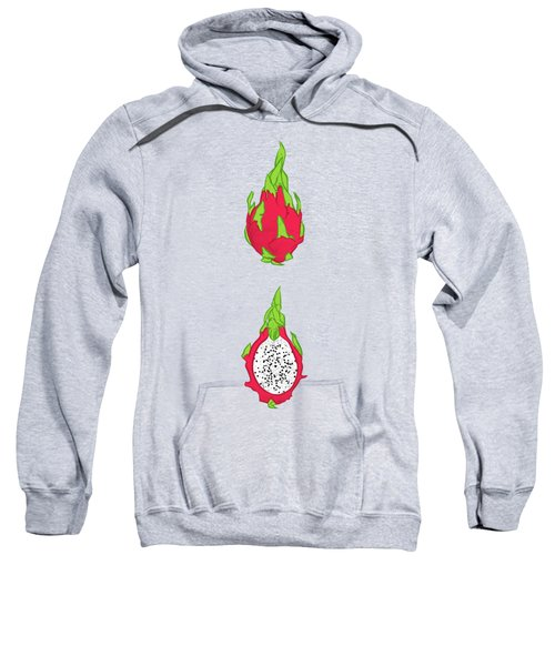 Dragon Fruit Sweatshirt by Evgenia Chuvardina