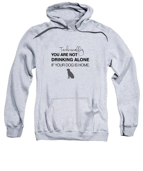 Drinking With Dogs Sweatshirt by Nancy Ingersoll
