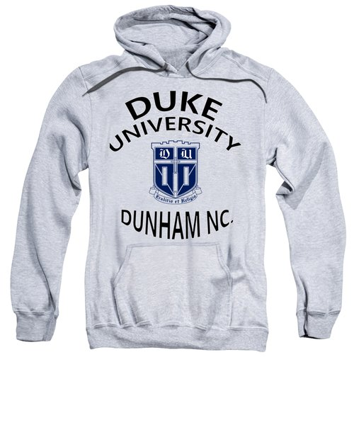 Duke University Dunham N C  Sweatshirt by Movie Poster Prints