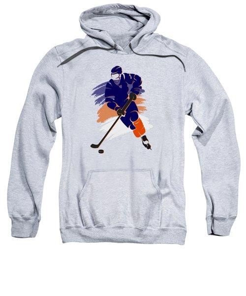 Edmonton Oilers Player Shirt Sweatshirt by Joe Hamilton
