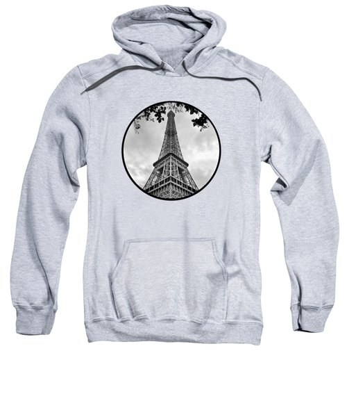 Eiffel Tower - Transparent Sweatshirt by Nikolyn McDonald