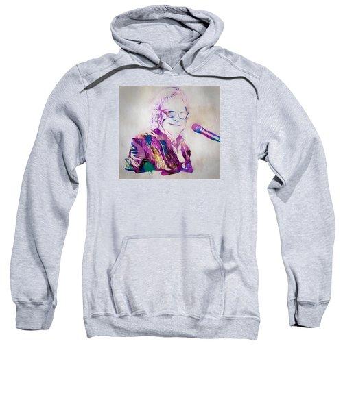 Elton John Sweatshirt by Dan Sproul