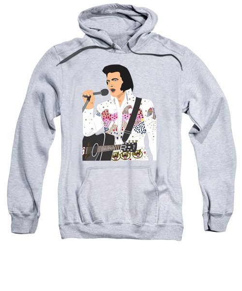Elvis Presley - 1973 Sweatshirt by Troy Arthur Graphics
