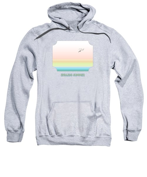 Endless Summer - Pink Sweatshirt by Gill Billington