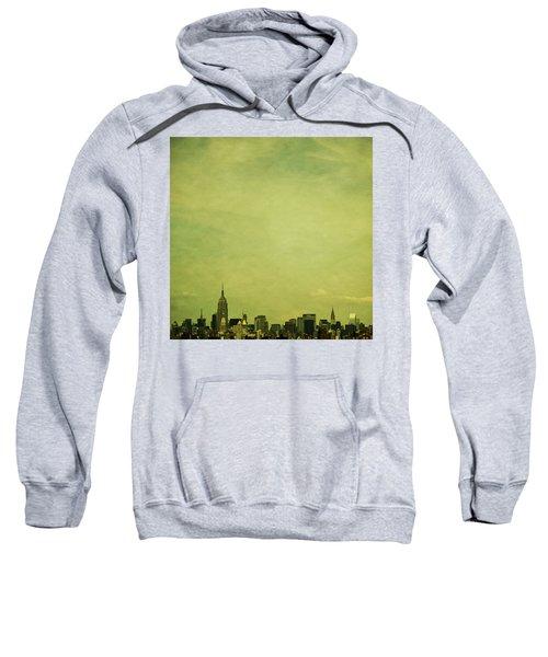Escaping Urbania Sweatshirt by Andrew Paranavitana