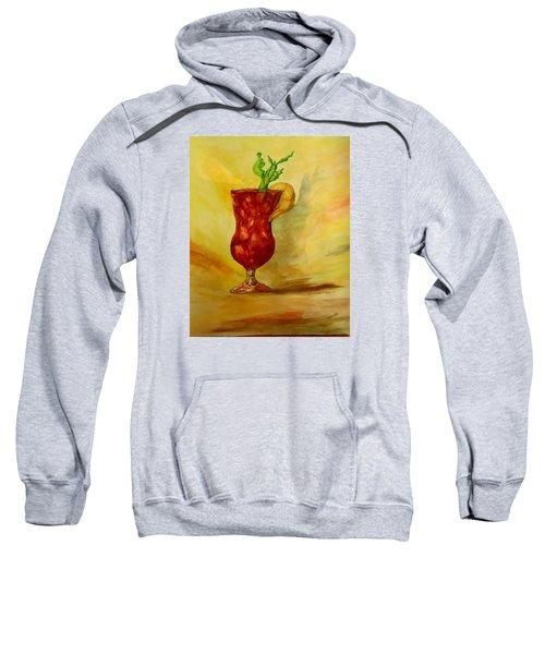 Eye Opener Sweatshirt by Jacquie King