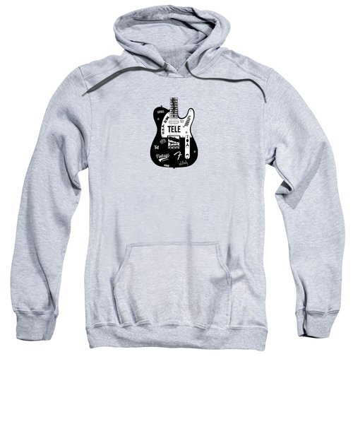 Fender Telecaster 64 Sweatshirt by Mark Rogan