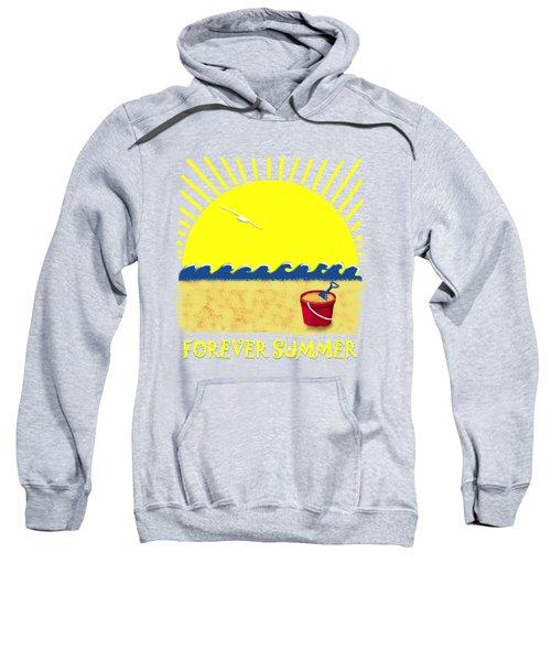 Forever Summer 8 Sweatshirt by Linda Lees