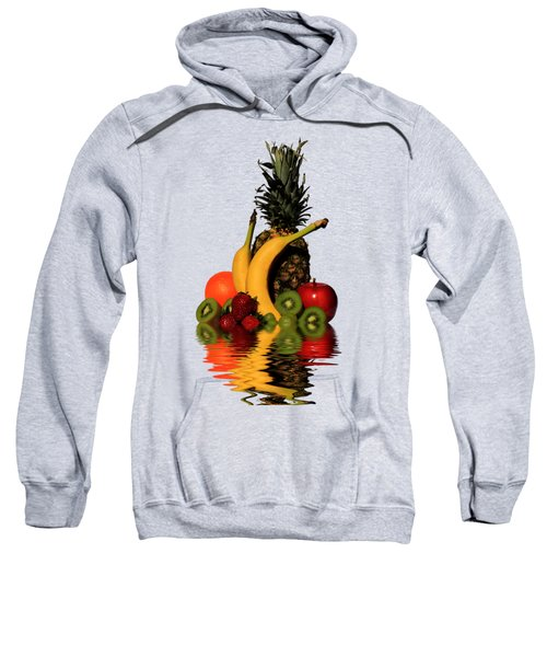 Fruity Reflections - Medium Sweatshirt by Shane Bechler