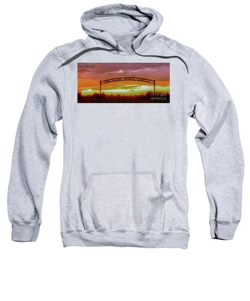 Gem Island Sports Complex Sweatshirt by Robert Bales