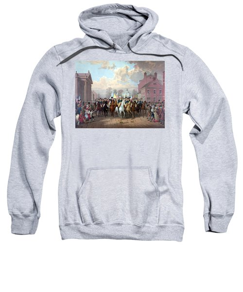 General Washington Enters New York Sweatshirt by War Is Hell Store