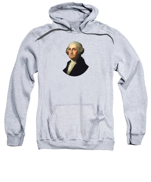 George Washington - Rembrandt Peale Sweatshirt by War Is Hell Store