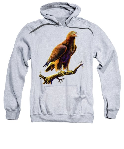 Golden Eagle Sweatshirt by Anthony Mwangi