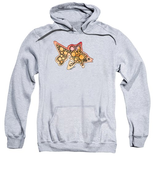 Goldfish Sweatshirt by Petra Stephens