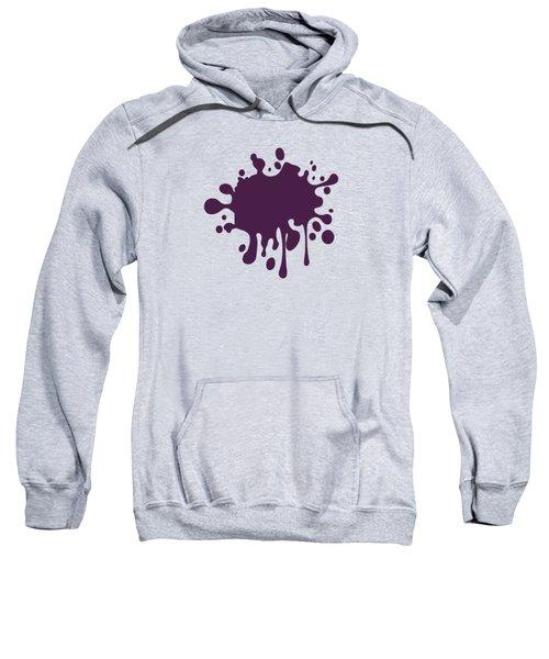 Grape Wine Solid Color Sweatshirt by Garaga Designs