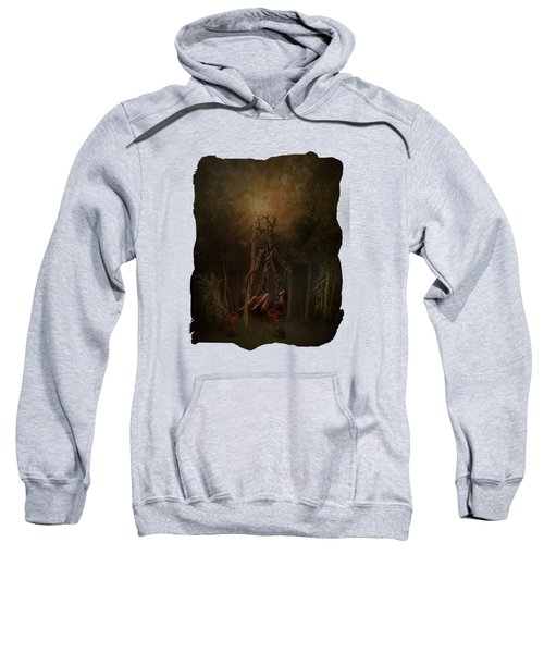 Guardians Of The Forest Sweatshirt by Terry Fleckney