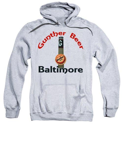 Gunther Beer Baltimore Sweatshirt by Jost Houk