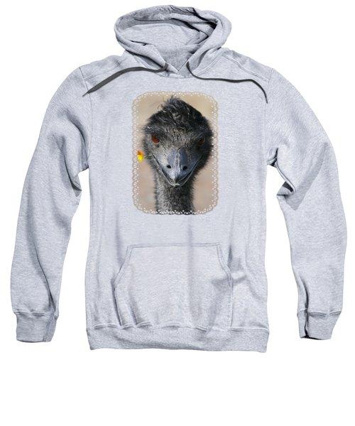 Happy Emu Sweatshirt by Ivana Westin