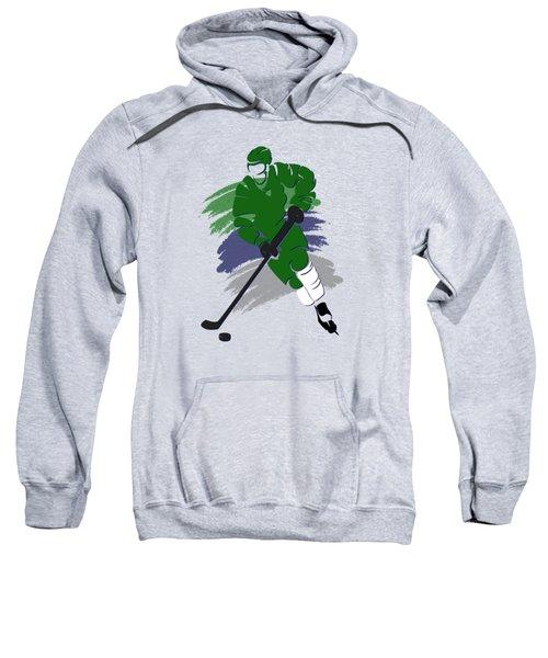 Hartford Whalers Player Shirt Sweatshirt by Joe Hamilton