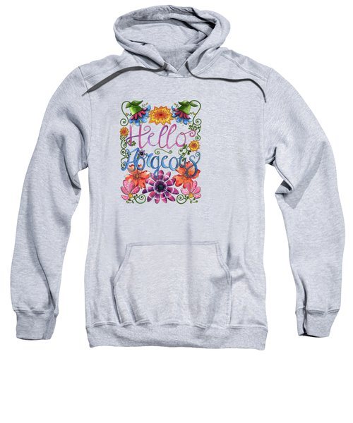 Hello Gorgeous Plus Sweatshirt by Shelley Wallace Ylst