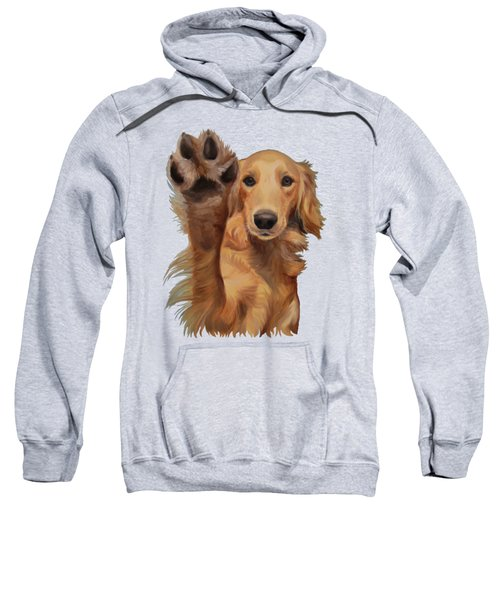 High Five Sweatshirt by Jindra Noewi