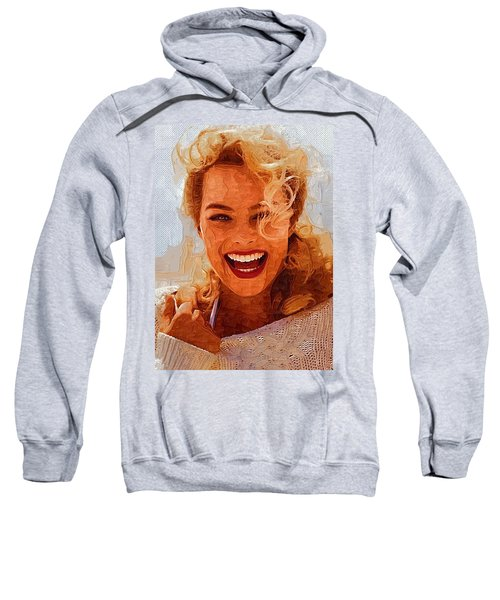 Hollywood Star Margot Robbie Sweatshirt by Best Actors