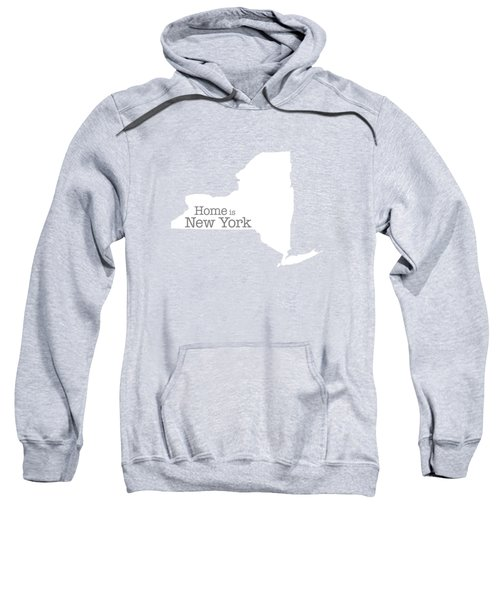 Home Is New York Sweatshirt by Bruce Stanfield