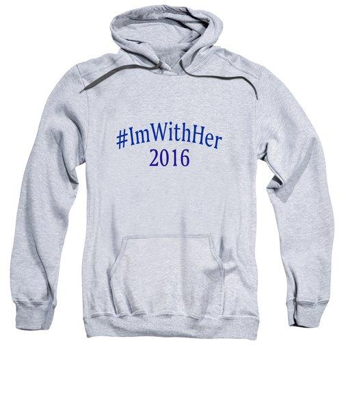 Imwithher Sweatshirt by Bill Owen