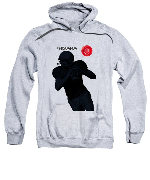Indiana Football Sweatshirt by David Dehner