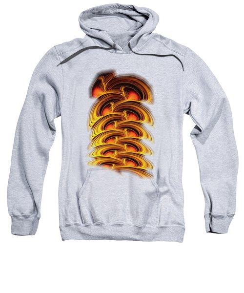 Inferno Sweatshirt by Anastasiya Malakhova