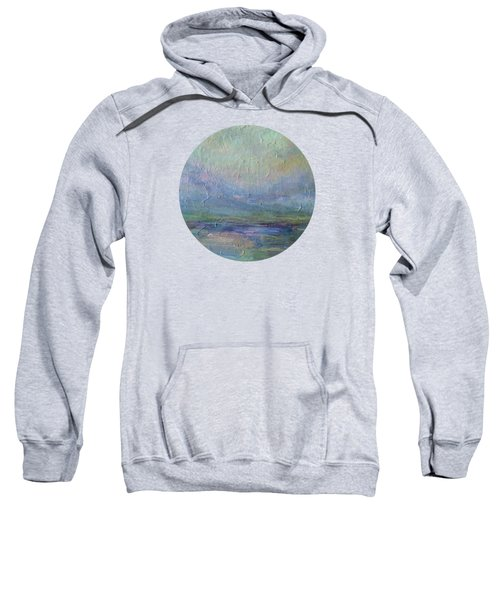 Into The Morning Sweatshirt by Mary Wolf