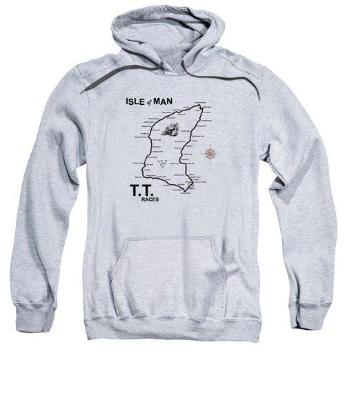 Isle Of Man Tt Sweatshirt by Mark Rogan
