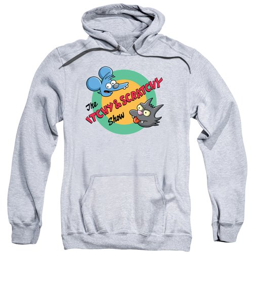 Itchy And Scratchy Sweatshirt by Ian  King