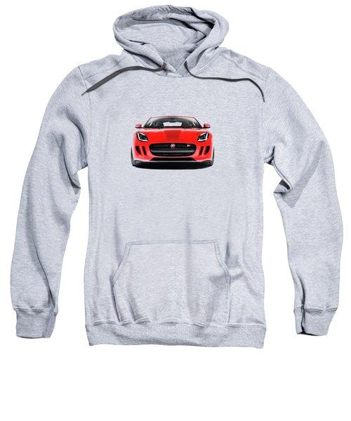 Jaguar F Type Sweatshirt by Mark Rogan