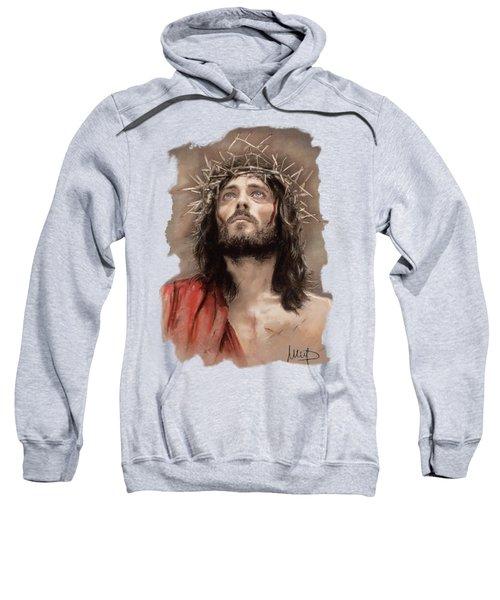 Jesus  Sweatshirt by Melanie D