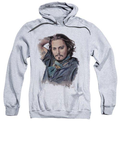 Johnny Depp Sweatshirt by Melanie D