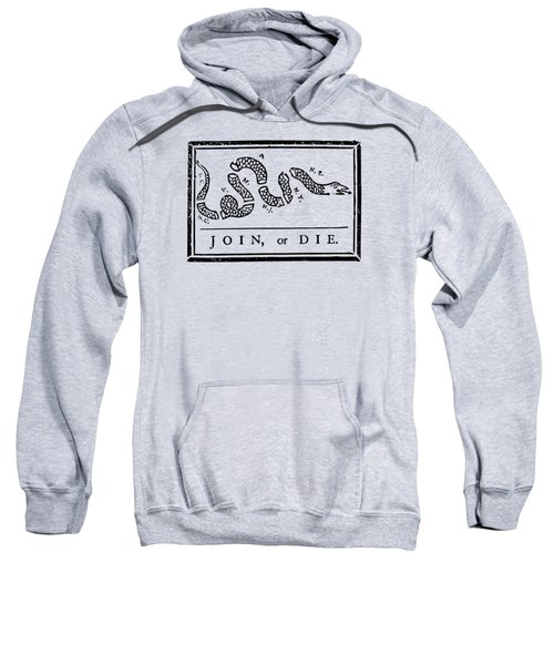 Join Or Die Sweatshirt by War Is Hell Store