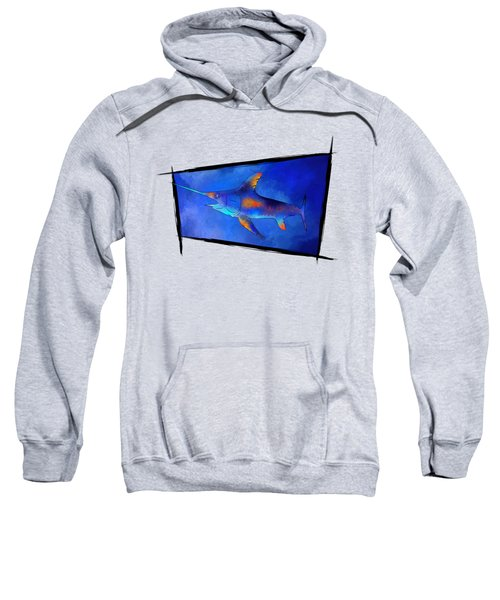 Kauderon V1 - Beautiful Swordfish Sweatshirt by Cersatti