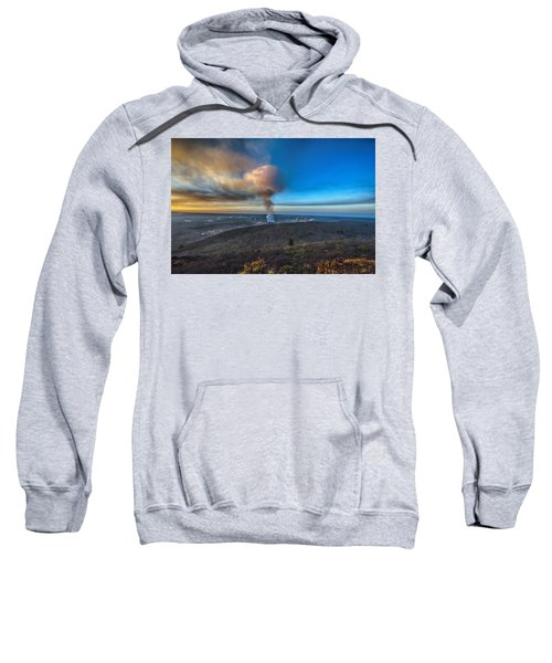 Kilauea Caldera Sweatshirt by Lynn Andrews